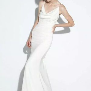 Nicole Miller Tara Bridal Gown Antique White